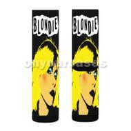 Blondie Punk Custom Sublimation Printed Socks Polyester Acrylic Nylon Spandex with Small Medium Large Size