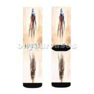 Halo 5 Guardians Shadow Custom Sublimation Printed Socks Polyester Acrylic Nylon Spandex with Small Medium Large Size