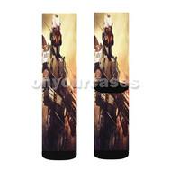 Killzone Shadow Fall Custom Sublimation Printed Socks Polyester Acrylic Nylon Spandex with Small Medium Large Size