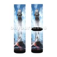 Star Wars Empire Custom Sublimation Printed Socks Polyester Acrylic Nylon Spandex with Small Medium Large Size