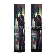 Uncharted 4 A Thief s End Custom Sublimation Printed Socks Polyester Acrylic Nylon Spandex with Small Medium Large Size