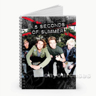 5 Seconds of Summer  Custom Personalized Spiral Notebook Cover