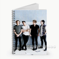 5 Seconds Of Summer Photo Session  Custom Personalized Spiral Notebook Cover