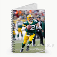 Aaron Rodgers  Custom Personalized Spiral Notebook Cover