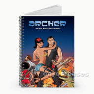 Archer Comic  Custom Personalized Spiral Notebook Cover
