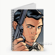 Archer Face  Custom Personalized Spiral Notebook Cover