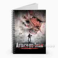 Attack on Titan  Custom Personalized Spiral Notebook Cover