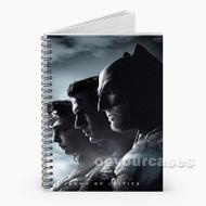 Batman Superman Wonder Woman  Custom Personalized Spiral Notebook Cover
