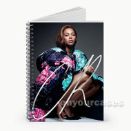 Beyonce Stars  Custom Personalized Spiral Notebook Cover