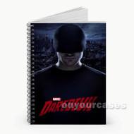 Daredevil Mask  Custom Personalized Spiral Notebook Cover