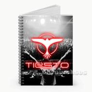 DJ Tiesto  Custom Personalized Spiral Notebook Cover