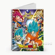 Dragon Ball Super Goku and Vegeta  Custom Personalized Spiral Notebook Cover