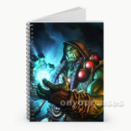 Durotan World of Warcraft  Custom Personalized Spiral Notebook Cover