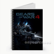 Gears of War 4 2  Custom Personalized Spiral Notebook Cover