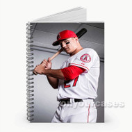 Mike Trout  Custom Personalized Spiral Notebook Cover