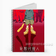 Paranoia Agent  Custom Personalized Spiral Notebook Cover
