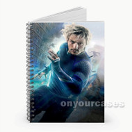 Quicksilver The Avengers  Custom Personalized Spiral Notebook Cover