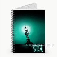 Sunless Sea  Custom Personalized Spiral Notebook Cover