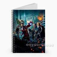 The Avengers  Custom Personalized Spiral Notebook Cover