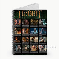 The Hobbit Characters  Custom Personalized Spiral Notebook Cover