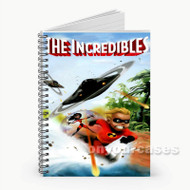 The Incredibles  Custom Personalized Spiral Notebook Cover