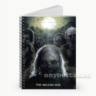 The Walking Dead  Custom Personalized Spiral Notebook Cover