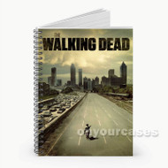 The Walking Dead Horse  Custom Personalized Spiral Notebook Cover