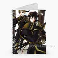 07 Ghost Manga Anime Custom Personalized Spiral Notebook Cover