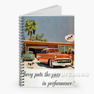 1969 Dodge Charger Vintage Custom Personalized Spiral Notebook Cover