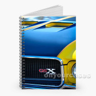 1970 Buick Gsx Custom Personalized Spiral Notebook Cover