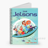 A Little Golden Book The Jetsons Custom Personalized Spiral Notebook Cover