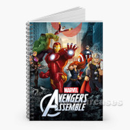 Avengers Assemble Custom Personalized Spiral Notebook Cover