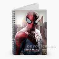 Captain America Civil War Spiderman Custom Personalized Spiral Notebook Cover