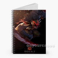 Dota 2 2 Custom Personalized Spiral Notebook Cover