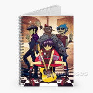 Gorillaz Band Custom Personalized Spiral Notebook Cover