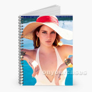 Lana Del Rey Swim Wear Custom Personalized Spiral Notebook Cover