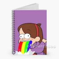 Mabel Pines Gravity Falls Custom Personalized Spiral Notebook Cover