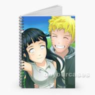 Naruto and Hinata Selfie Naruto Shippuden Custom Personalized Spiral Notebook Cover