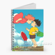 Ponyo Custom Personalized Spiral Notebook Cover