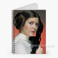Princess Leia Star Wars The Force Awakens Custom Personalized Spiral Notebook Cover