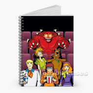 Scooby Doo and Monsters Custom Personalized Spiral Notebook Cover