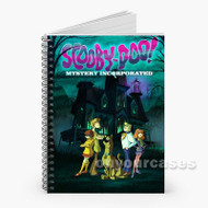 Scooby Doo Mystery Incorporated Custom Personalized Spiral Notebook Cover