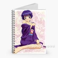 Sexy Ai Yori Aoshi Custom Personalized Spiral Notebook Cover