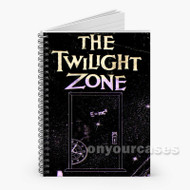 The Twilight Zone Door Custom Personalized Spiral Notebook Cover