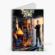 Twilight Zone Custom Personalized Spiral Notebook Cover