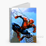 Ultimate Spiderman Custom Personalized Spiral Notebook Cover