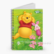 Winnie The Pooh anbd Piglet Disney Custom Personalized Spiral Notebook Cover