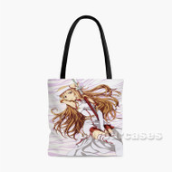 Asuna Yuuki Sword Art Online 2 Custom Personalized Tote Bag Polyester with Small Medium Large Size