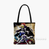 Black Butler 2 Custom Personalized Tote Bag Polyester with Small Medium Large Size