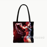 Black Lagoon Custom Personalized Tote Bag Polyester with Small Medium Large Size